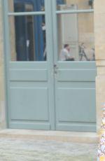 HELOISE KETISSIER at Schiaparelli Haute-couture Fashion Show in Paris 07/04/2016