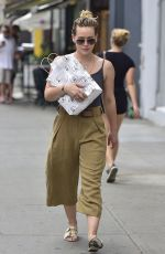 HILARY DUFF Out and About in New York  07/14/2016