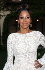 HOLLY ROBINSON PEETE at Hollyrod Foundation's Designcare Gala in Pacific Palisades 07/16/2015
