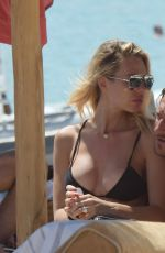 ILARY BLASI in Bikini at a Beach in Sardinia 07/02/2016