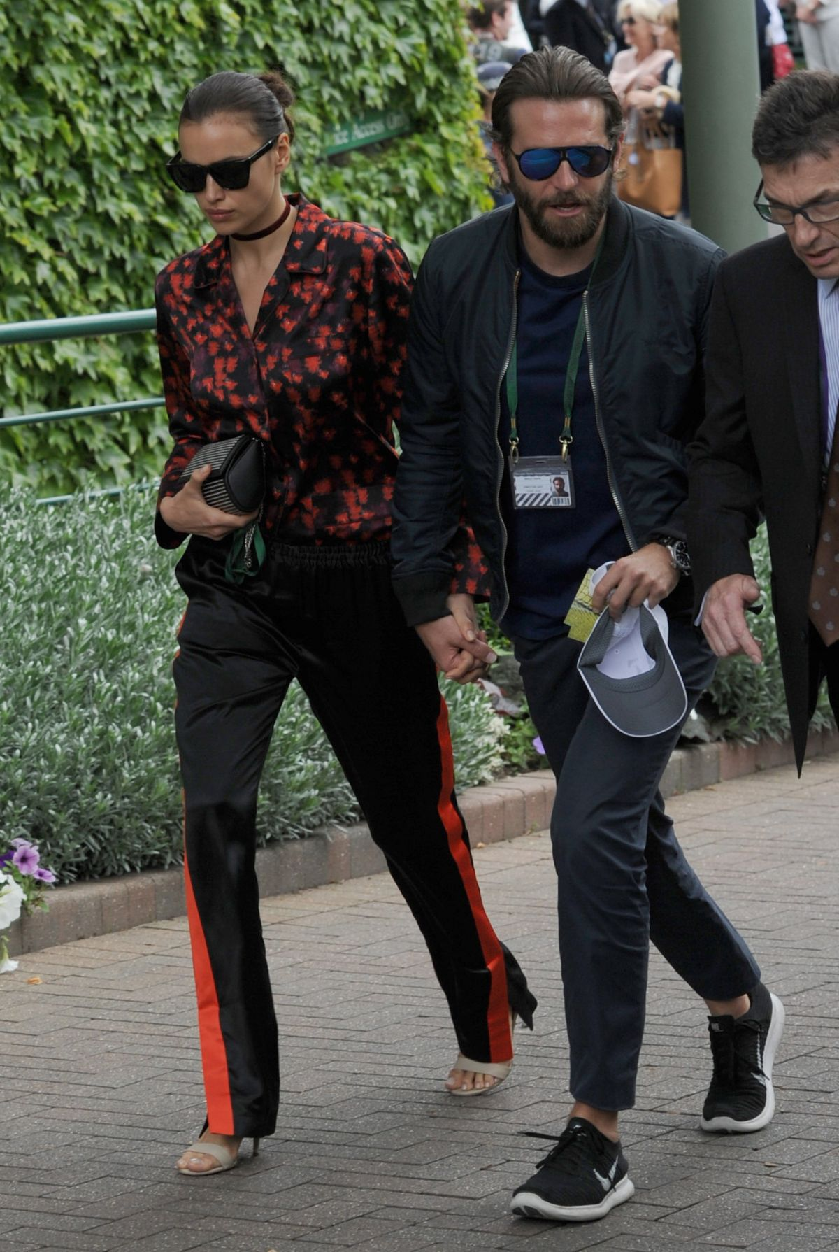 IRINA SHAYK and Bradley Cooper Out in London 07/08/2016