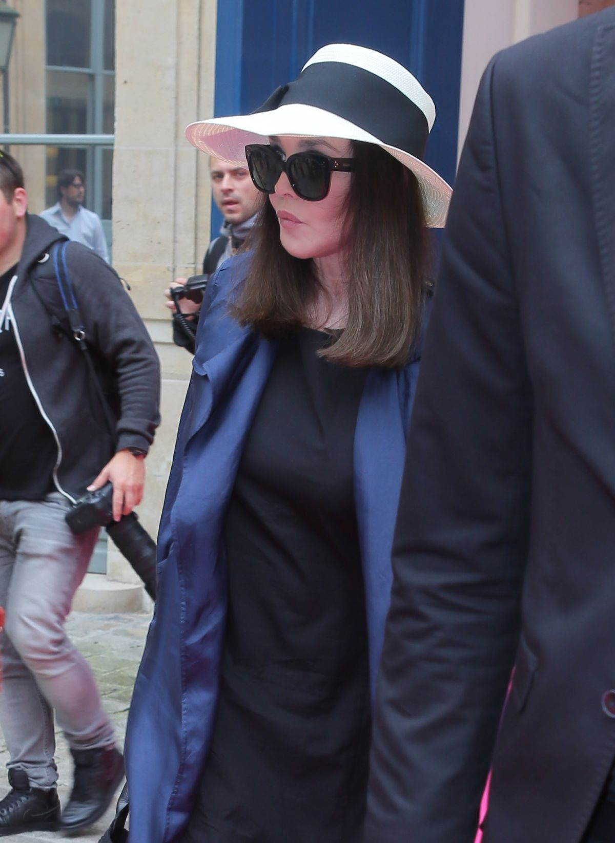 ISABELLE ADJANI at Schiaparelli Haute-couture Fashion Show in Paris 07/04/2016