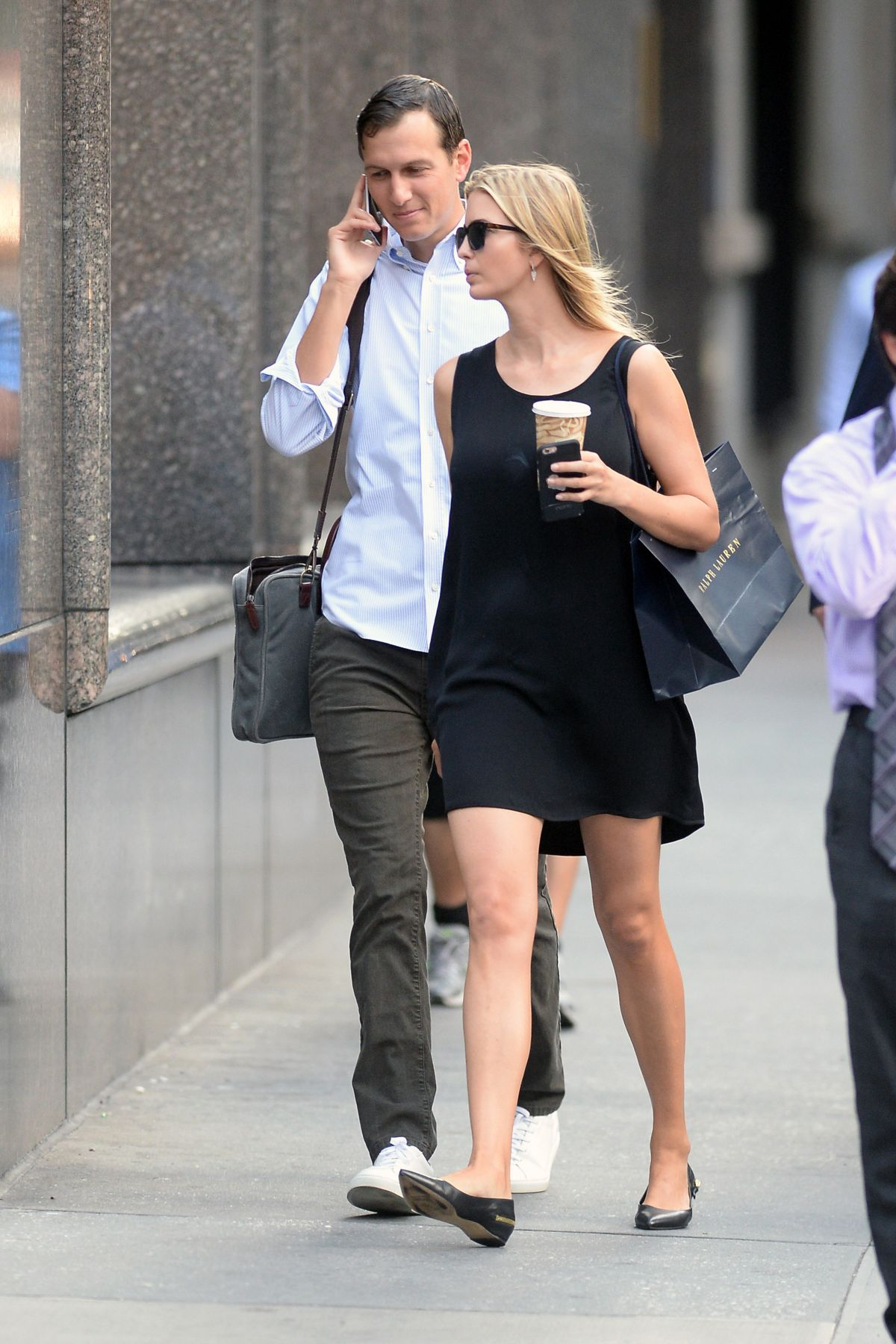 IVANKA TRUMP Out and About in New York 07/25/2016 Ivanka Trump