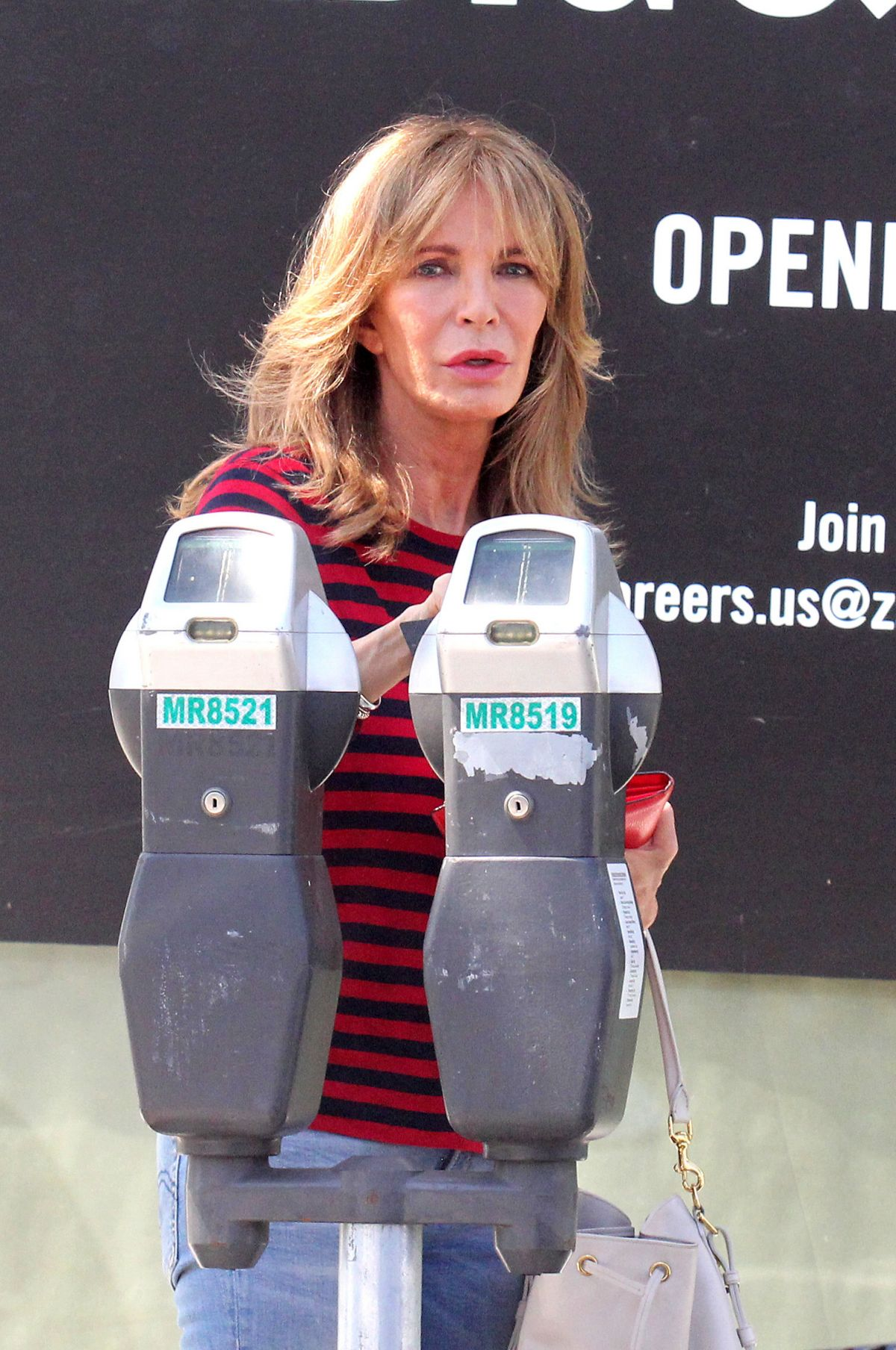 JACLYN SMITH Out in West Hollywood 08/08/2016