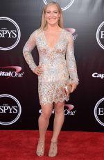 JAMIE ANDERSON at 2016 espys in Los Angeles 07/13/2016