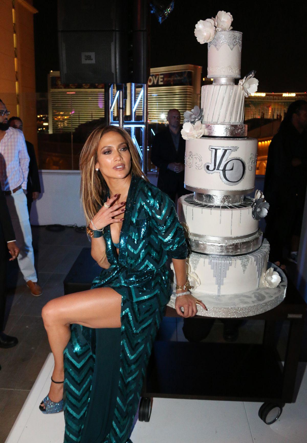 Jennifer Lopez At Jennifer Lopez S Private 47th Birthday
