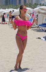 JENNIFER NICOLE LEE in Bikini on the Beach in Miami 07/16/2016