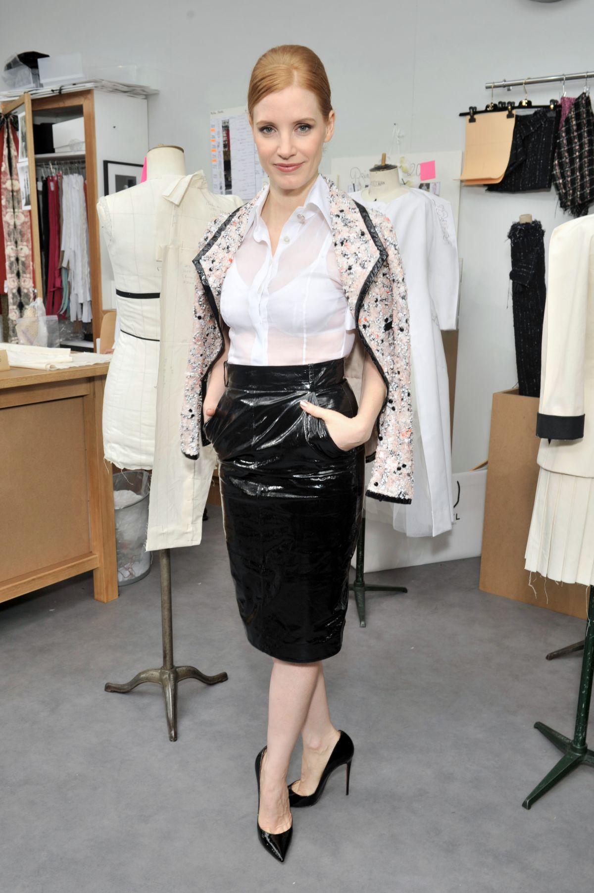 Jessica fox chanel couture