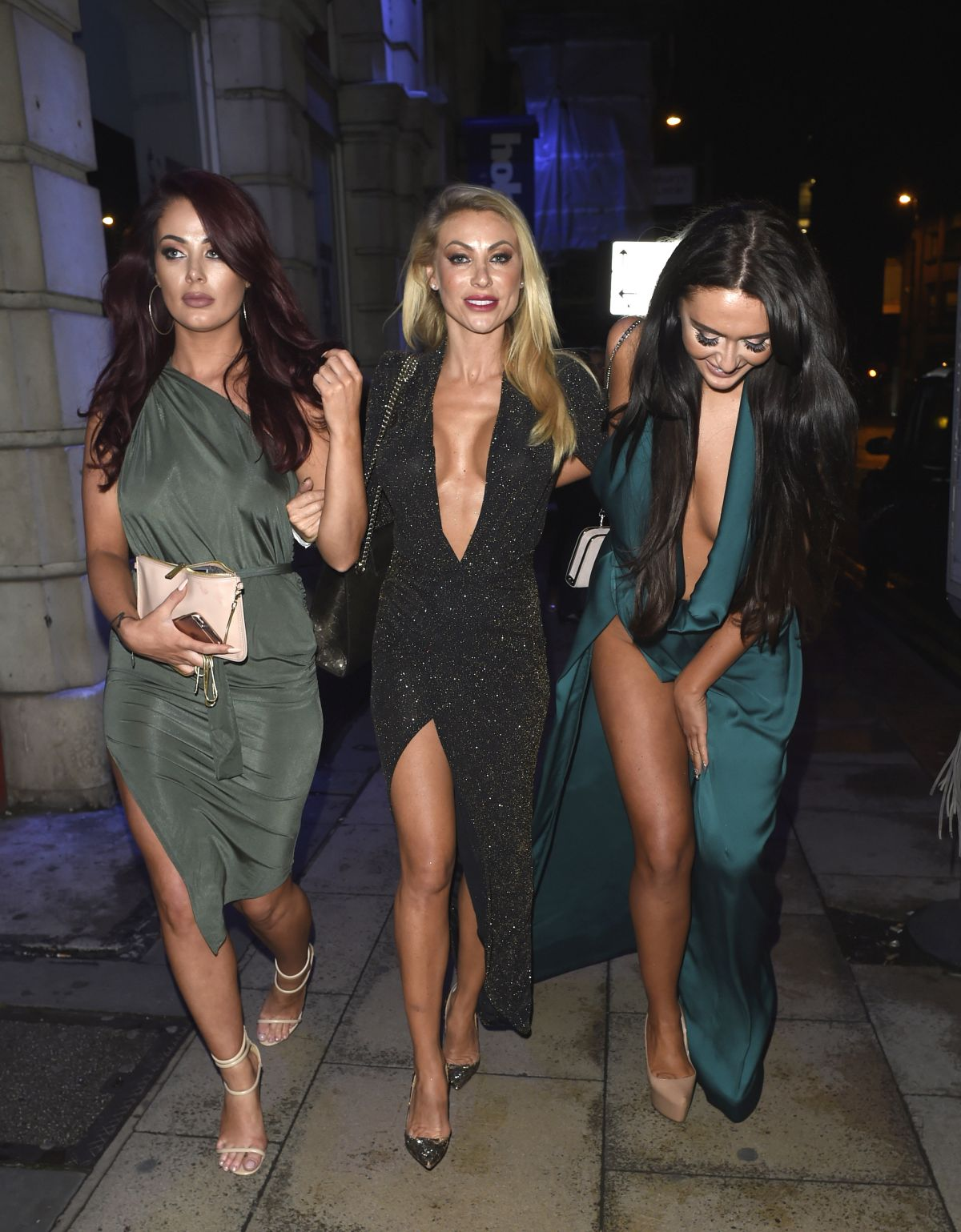 JESSICA HAYES and CHARLOTTE DAWSON at Milton Club in Manchester 06/30/2016