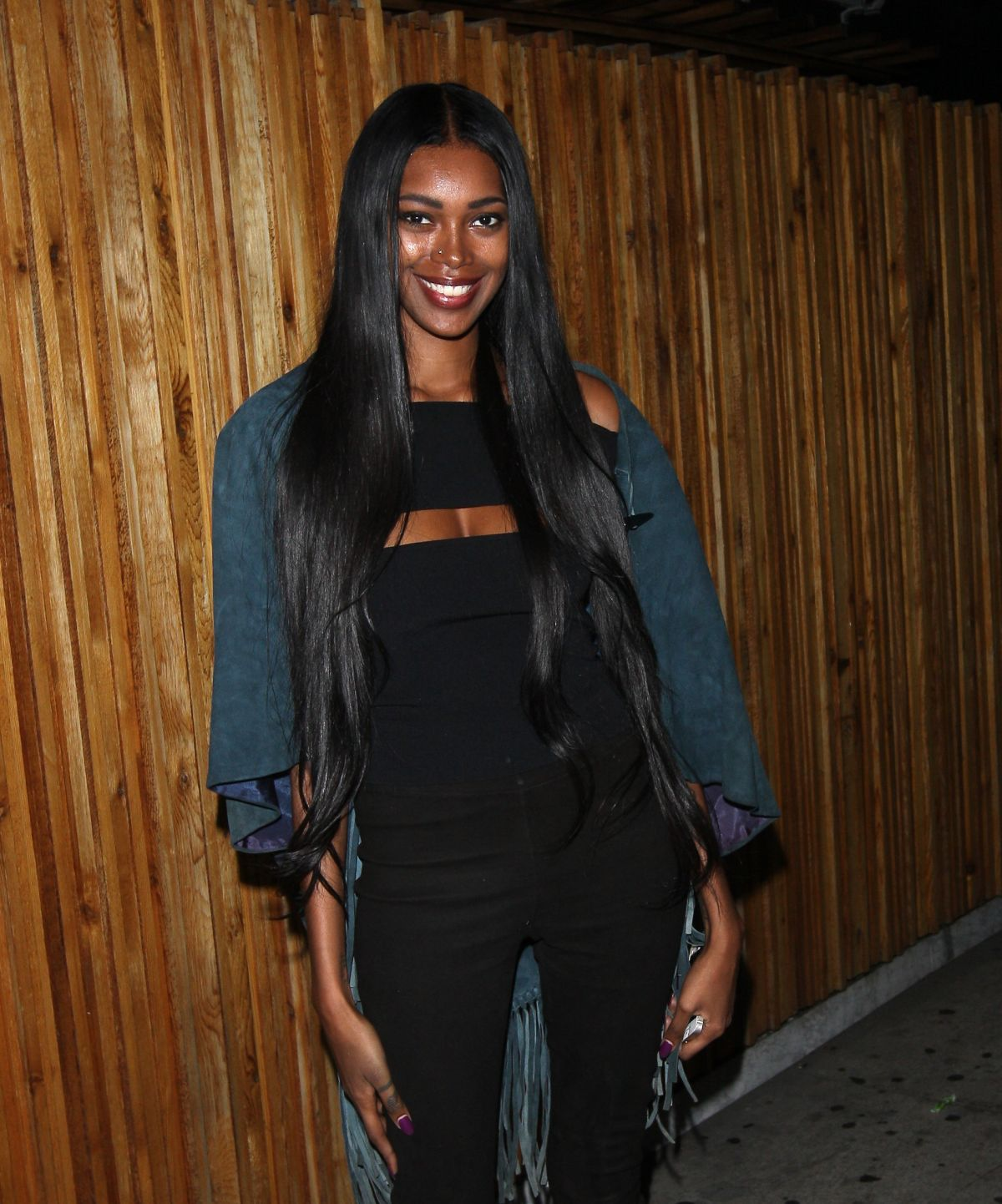 JESSICA WHITE at Nice Guy in West Hollywood 06/28/2016