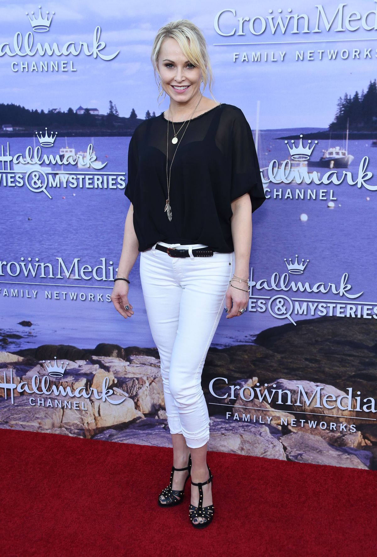 JOSIE BISSETT at Hallmark Movies and Mysteries Summer 2016 TCA Press Tour in Beverly Hills 07/27/2016