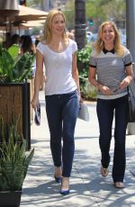 JOSIE DAVIS and DONIELLE WILLIAMS Out in Beverly Hills 07/29/2016
