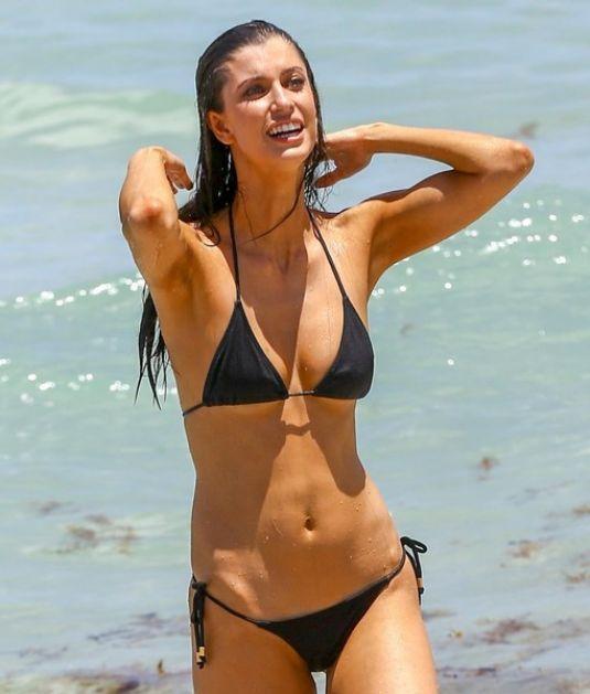 JUIA FRIEDMAN in Bikini on the Beach in Miami 07/18/2016