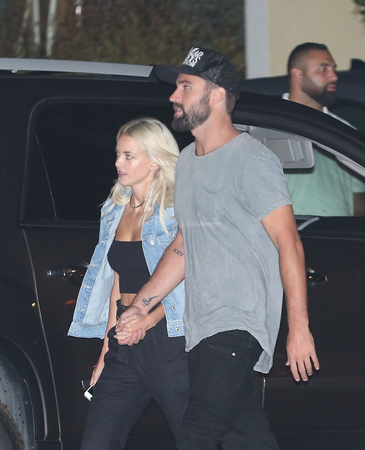 KAITLYNN CARTER and Brody Jenner Out in Malibu 07/26/2016