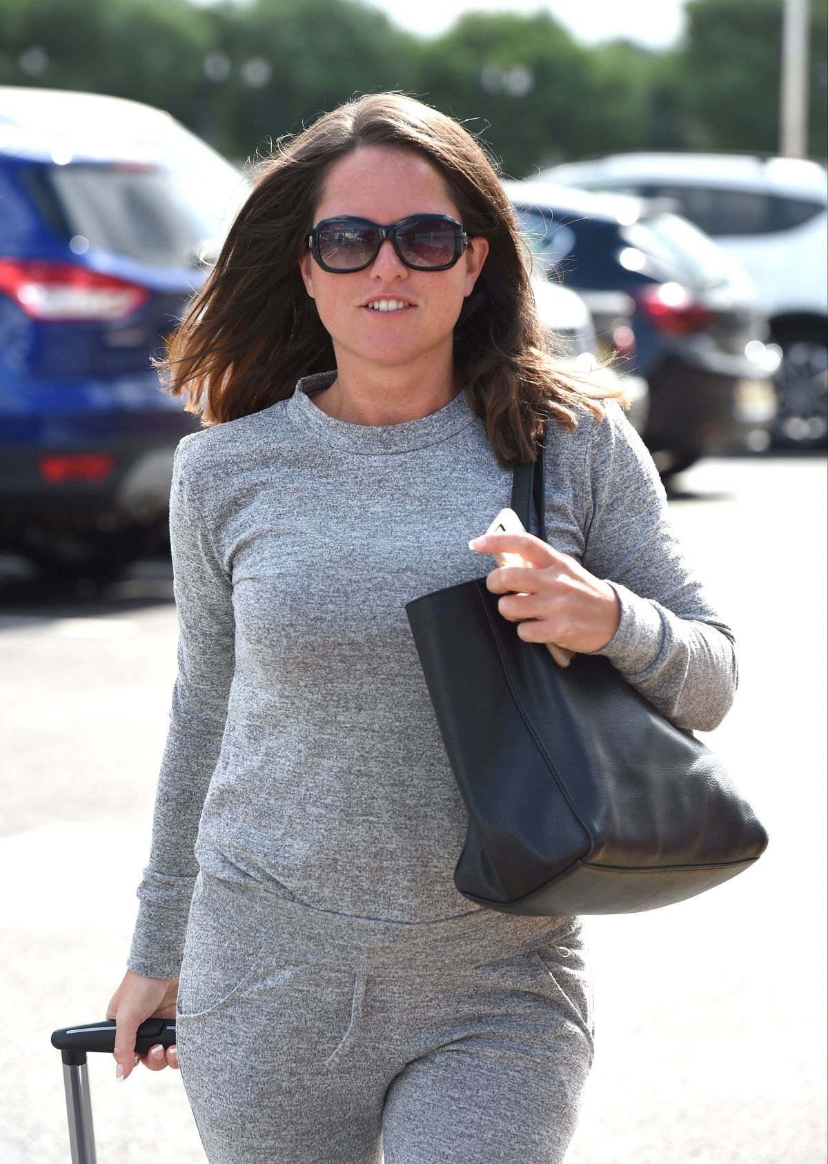 KAREN DANCZUK Out and About in London 06/30/2016