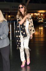 KATE BECKINSALE at JFK Airport in New York 07/06/2016
