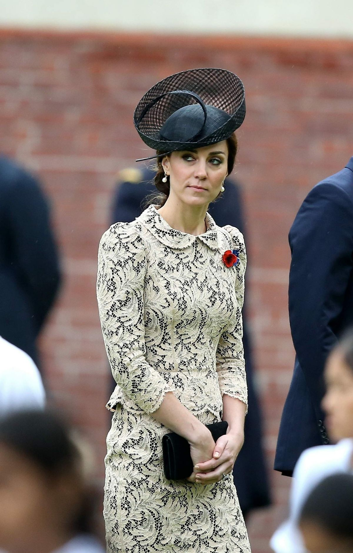 KATE MIDDLETON at Somme Centenary Commemorations in Thiepval, France 07/01/2016