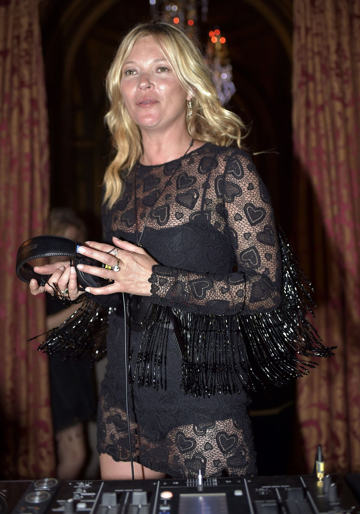 Kate Moss At Miu Miu Club And Croisiere 2017 Collection Presentation