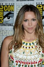 KATHARINE MCPHEE at CBS Television Studios Press Line at Comic-con in San Diego 07/21/2016
