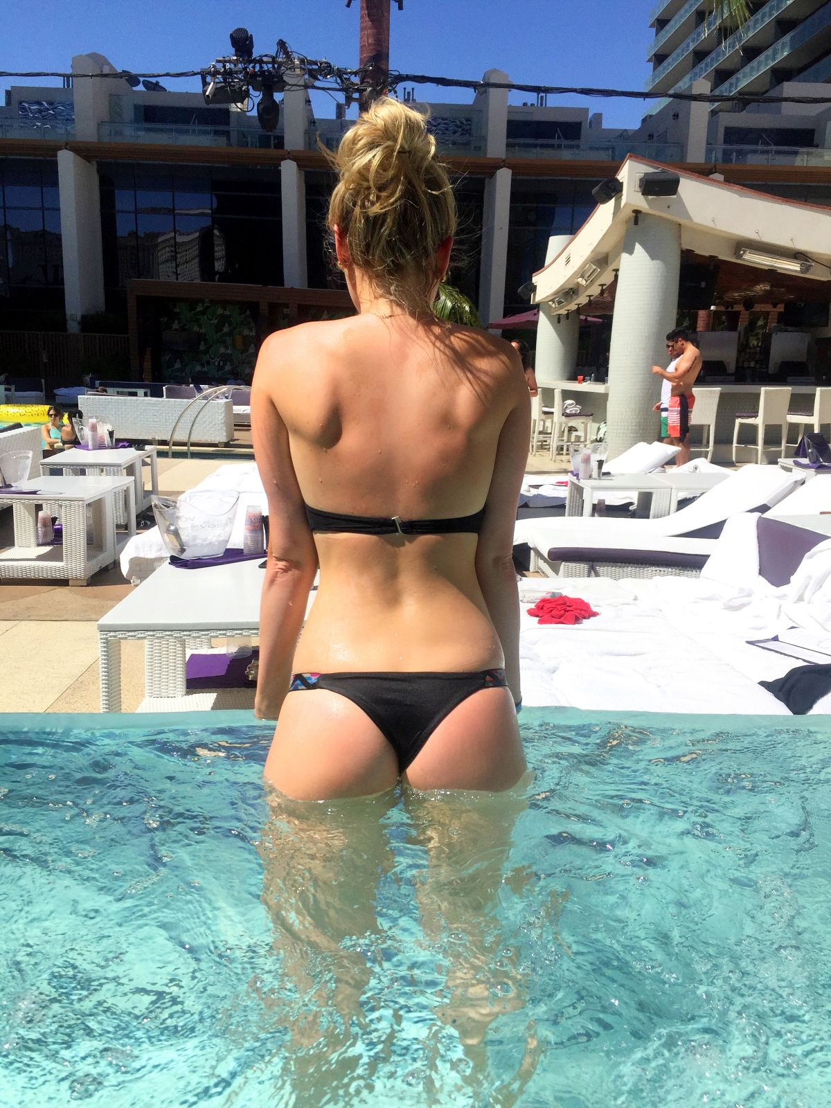 katrina bowden in bikini at a pool in las vegas 07 13 2016