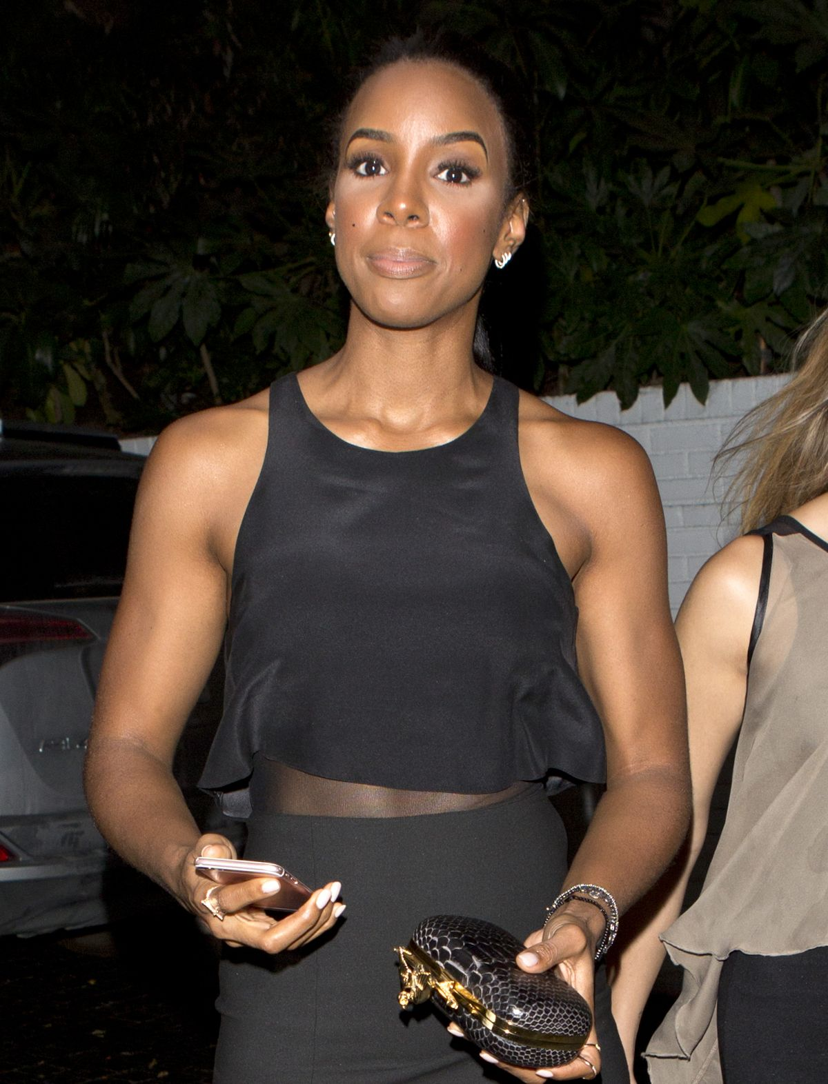 KELLY ROWLAND at Chate...
