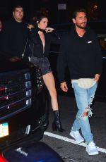 KENDALL JENNER Out for Dinner in New York 07/08/2016