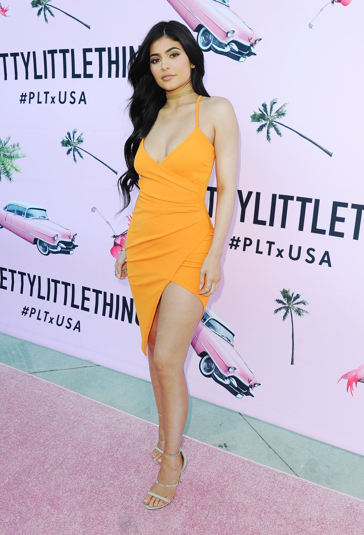 KYLIE JENNER at prettylittlething.com US Launch Party in Los Angeles ...