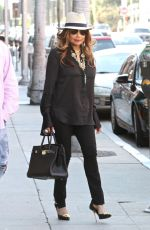 LA TOYA JACKSON Out and About in Beverly Hills 07/05/2016