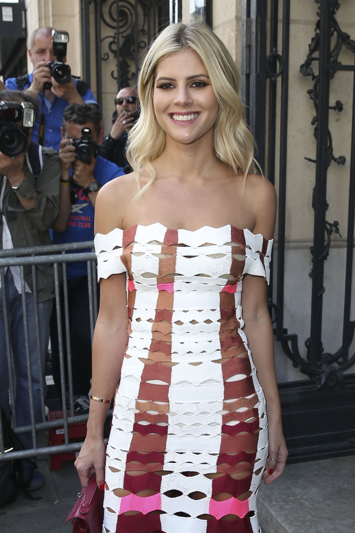 LALA RUDGE at Jean-Paul Gaultier Haute Couture Fall/Winter 2016/2017 Fasion Show in Paris 07/06/2016