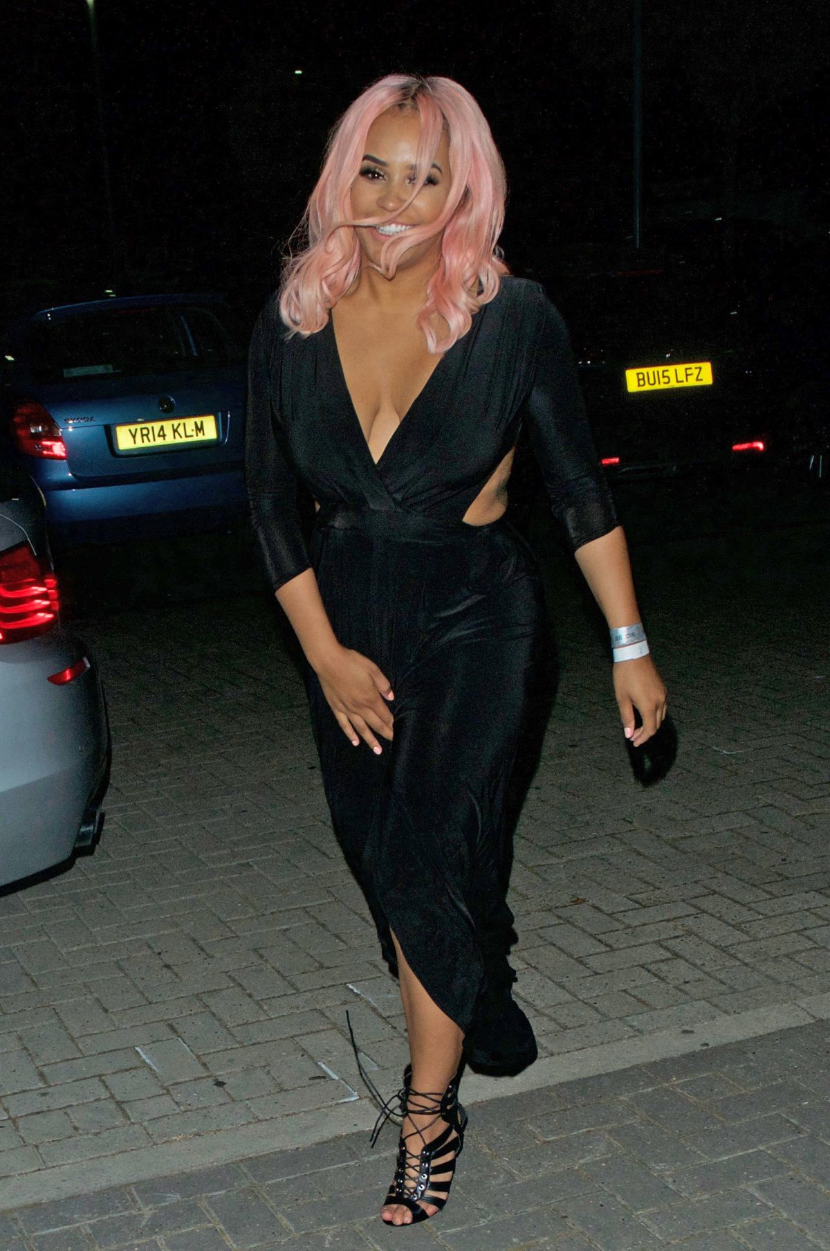 LATEYSHA GRACE at Big Brother After Party in London 07/27/2016