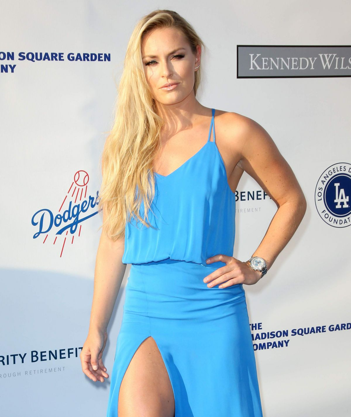 LINDSEY VONN at Blue Diamond Gala in Los Angeles 07/28/2016 ...