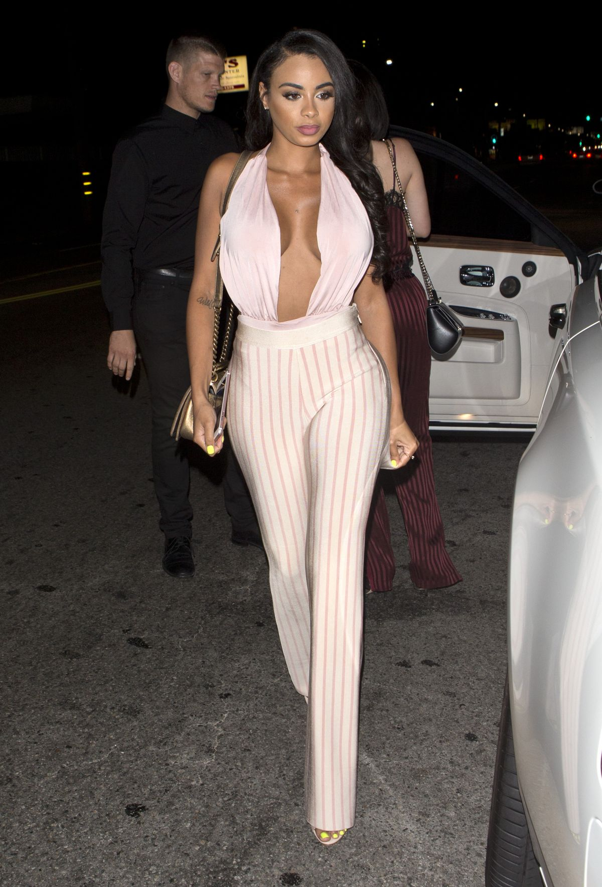 LIRA GALORE Leaves Toca Madera in West Hollywood 07/15/2016