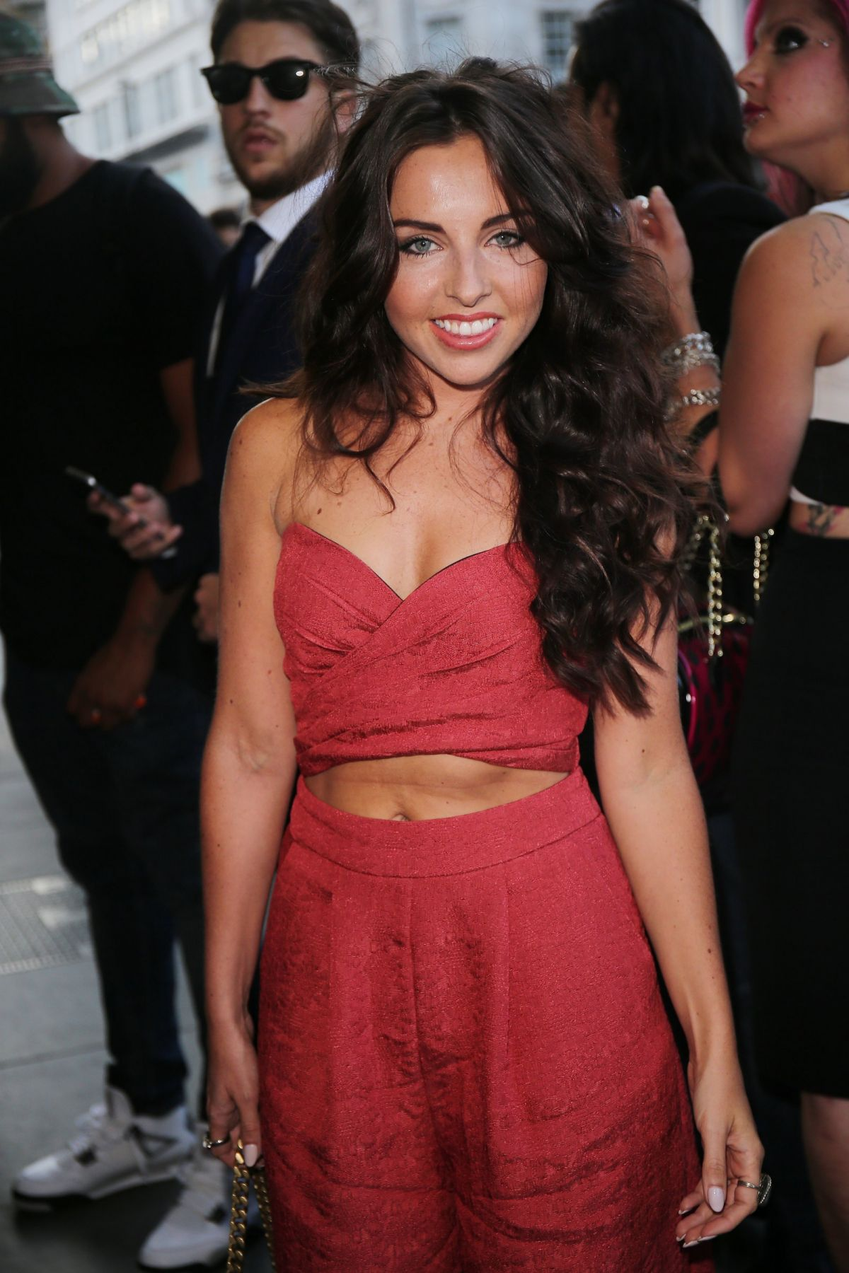 LOUISA LYTTON at The Intent Premiere in London 07/25/2016
