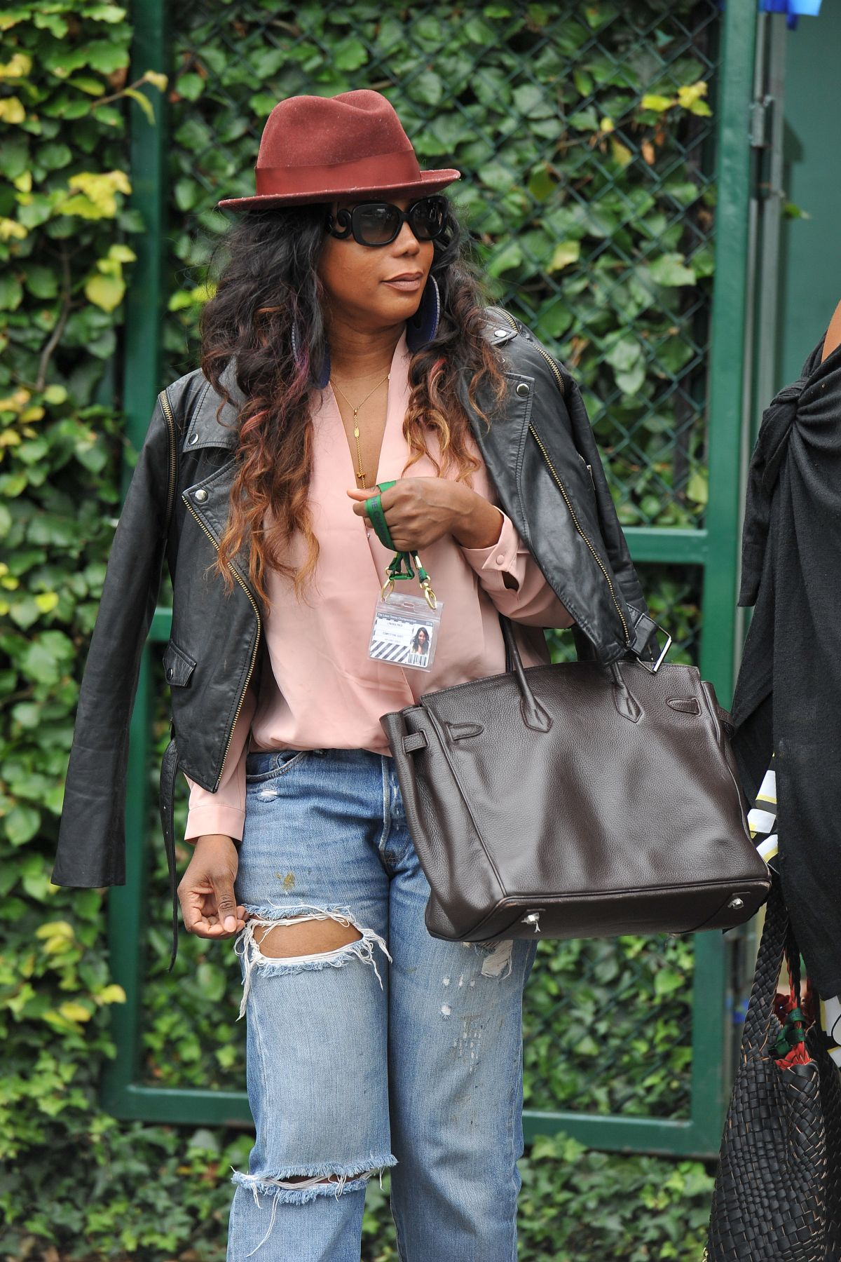 LYNDREA PRICE Out and About in London 07/09/2016