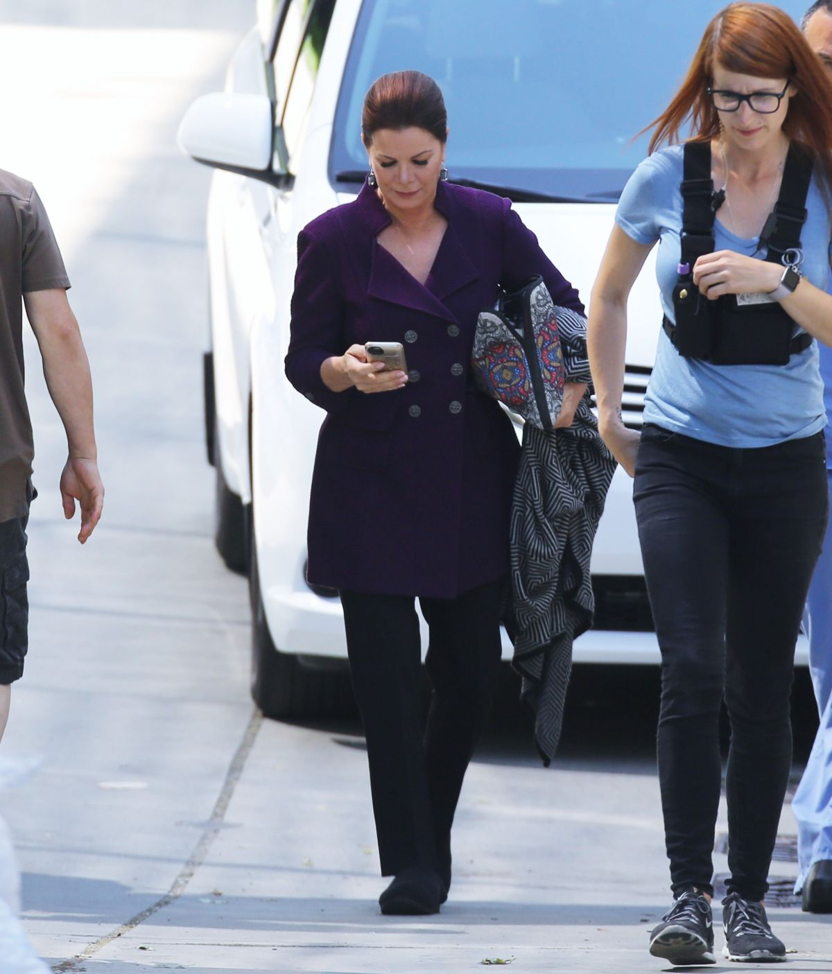 "MARCIA GAY HARDEN on the Set of ""Fifty Shades Freed"