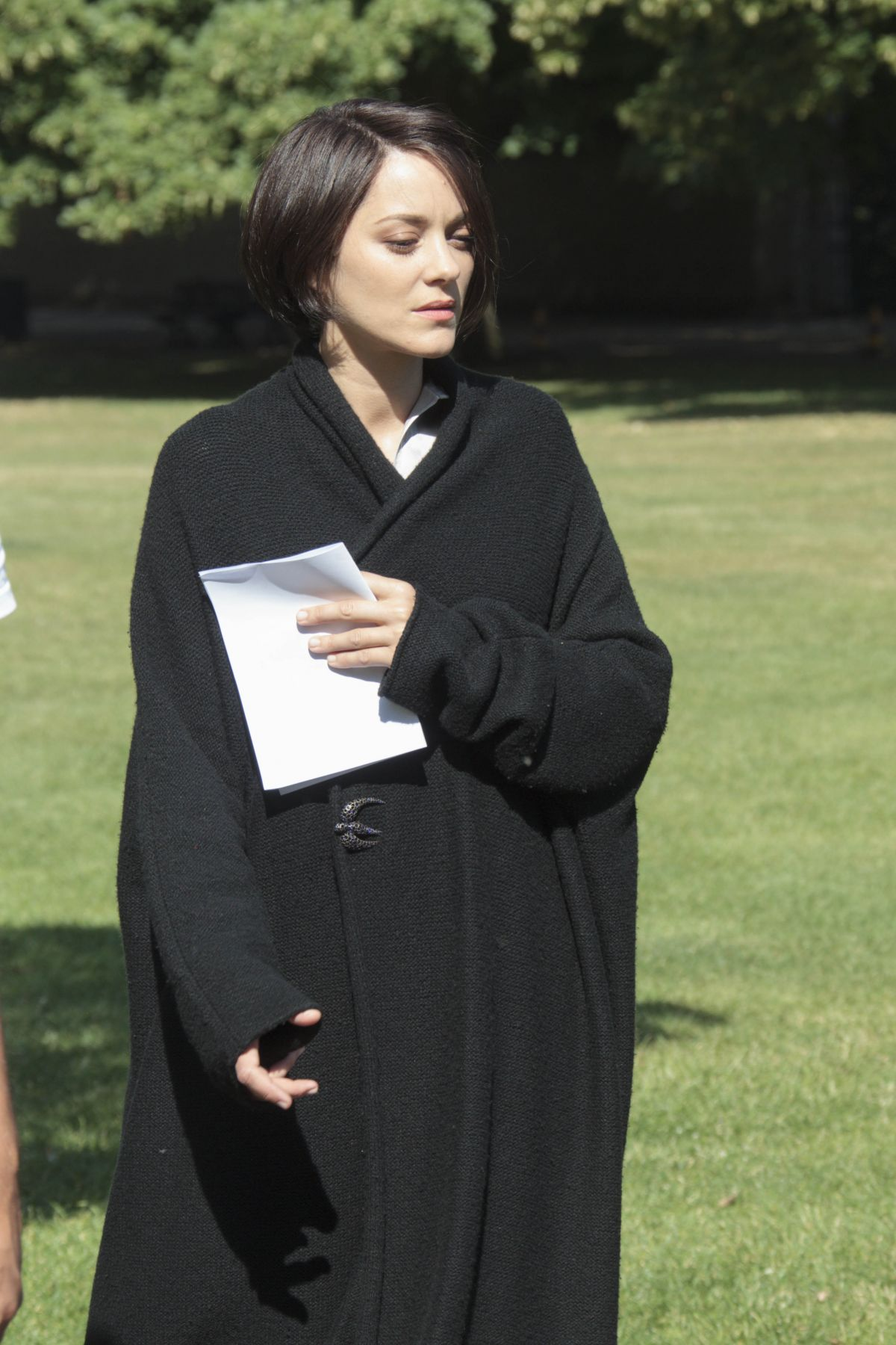 MARION COTILLARD on the Set of Assassins Creed in Ely 07/26/2016 Marion Cotillard