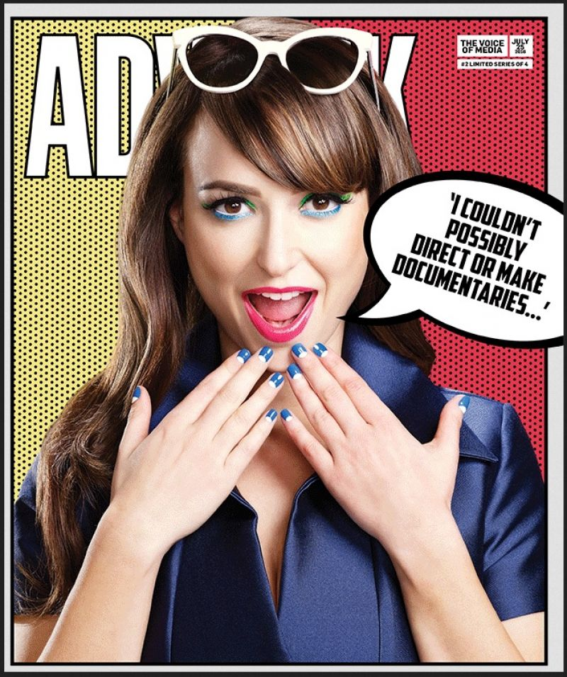MILANA VAYNTRUB in Adweek Magazine, July 2016