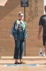 MILEY CYRUS at Nobu in Malibu 07/09/2016