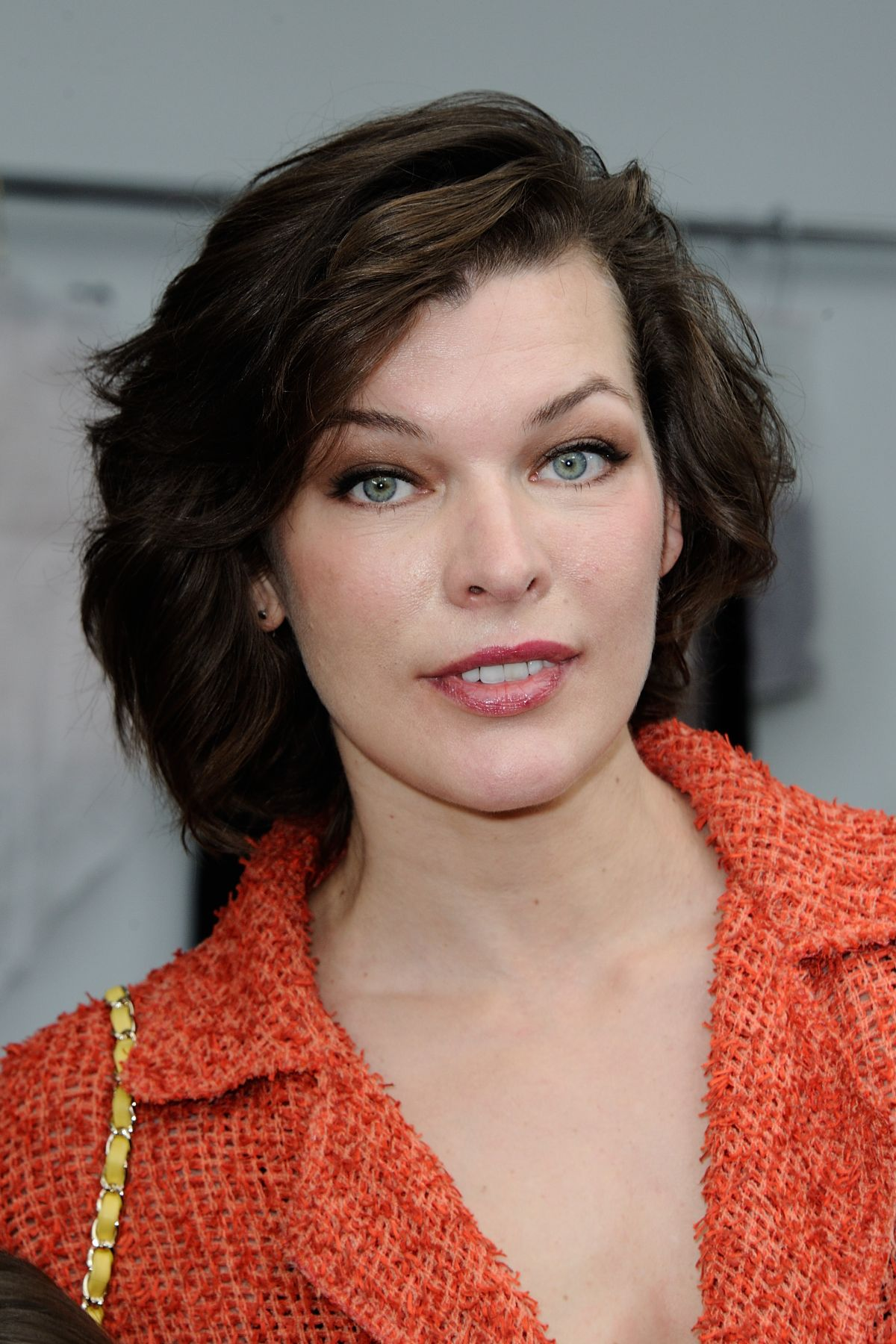 MILLA JOVOVICH at Chanel Haute Couture Fall/Winter 2016 ... Milla Jovovich