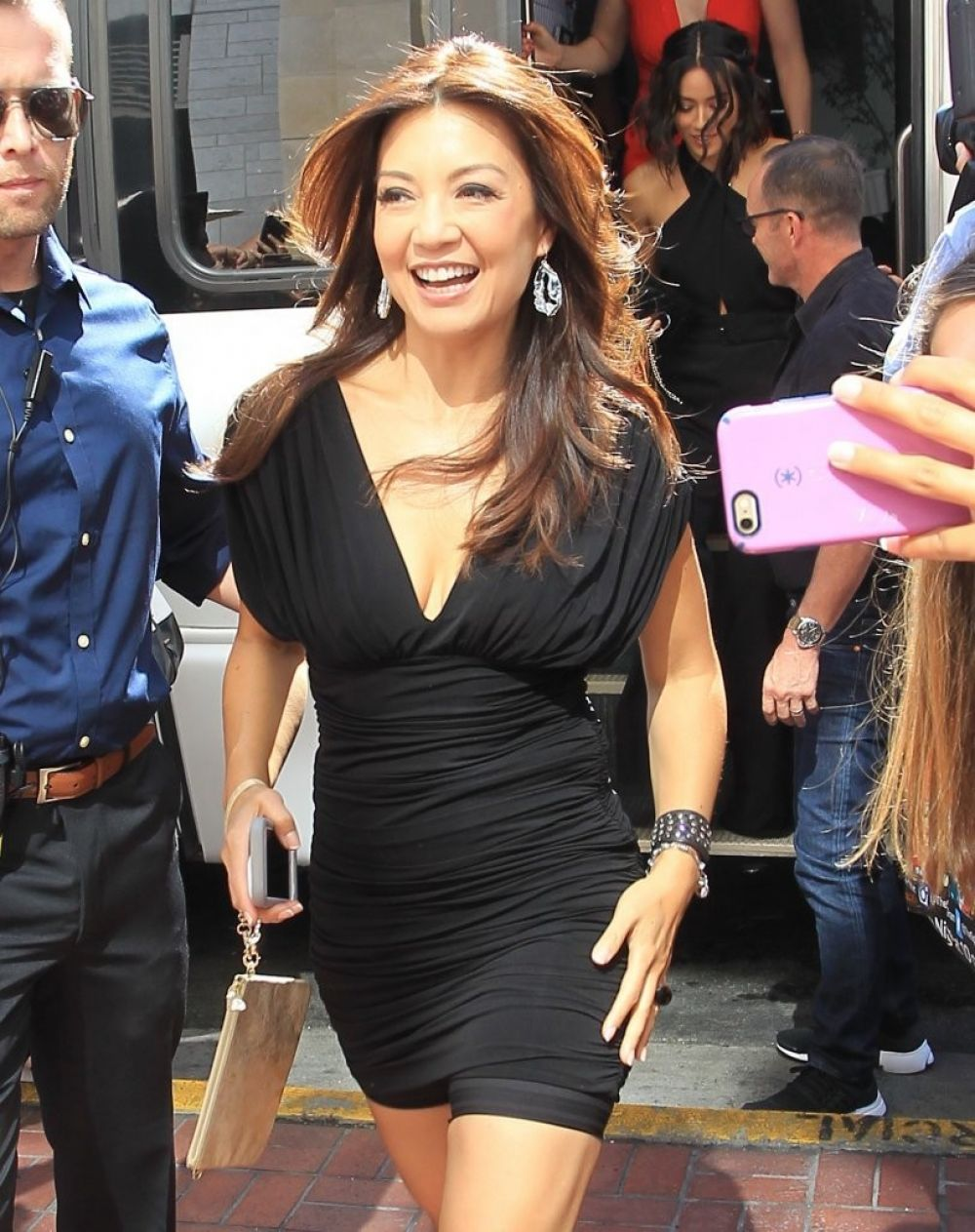 MING-NA WEN Arrives at Comic-con 2016 in San Diego 07/23/2016