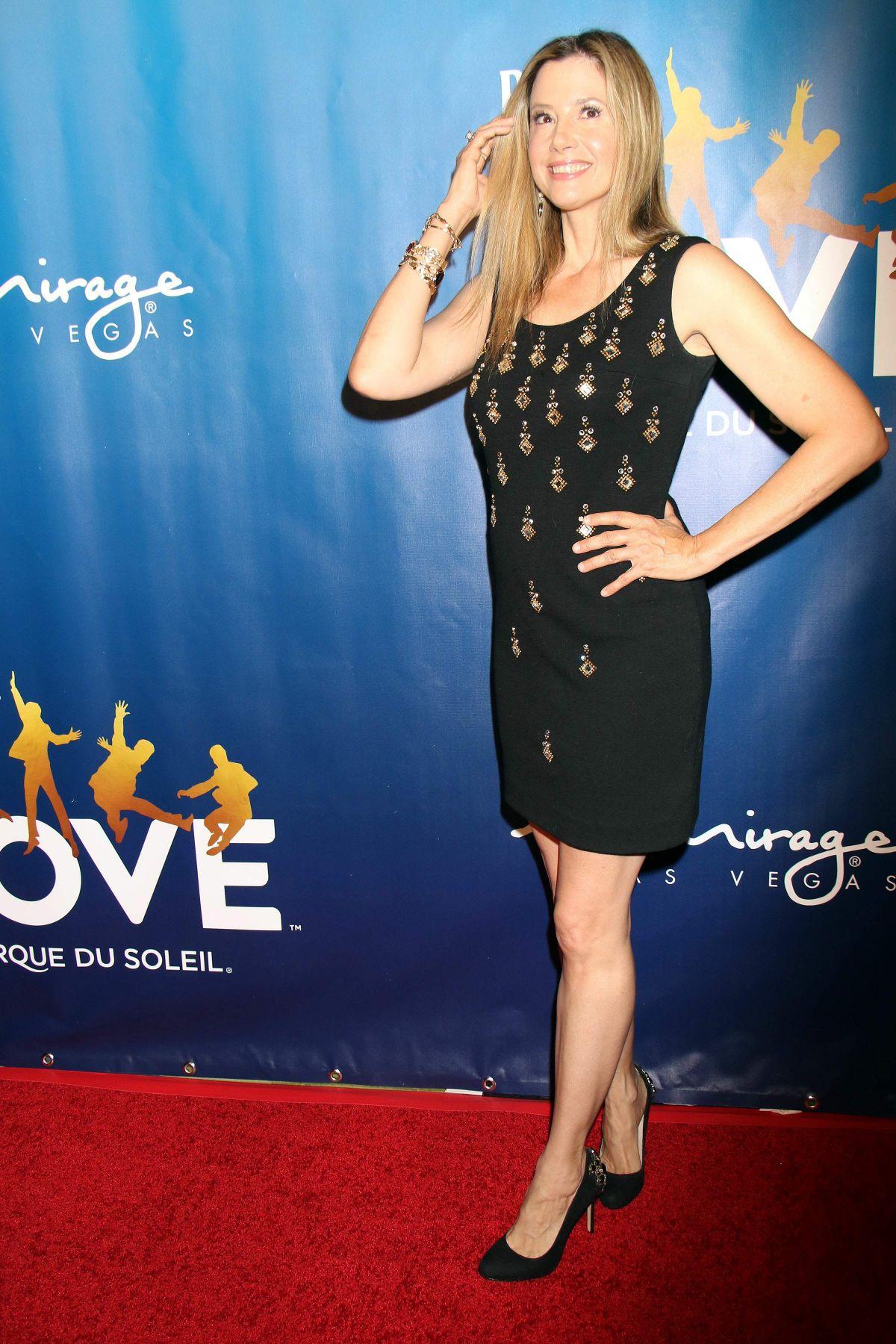 MIRA SORVINO at The Beatles Love 10th Anniversary in Las Vegas 07/14/2016