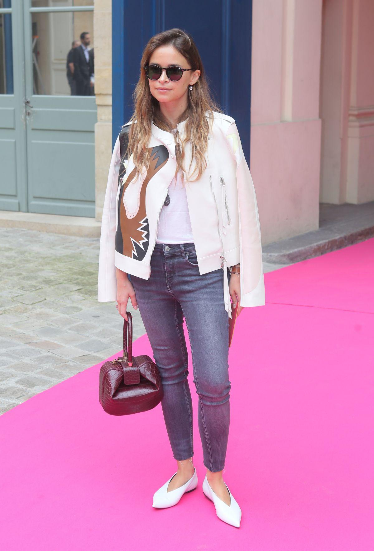 MIROSLAVA DUMA at Schiaparelli Haute-couture Fashion Show in Paris 07/04/2016