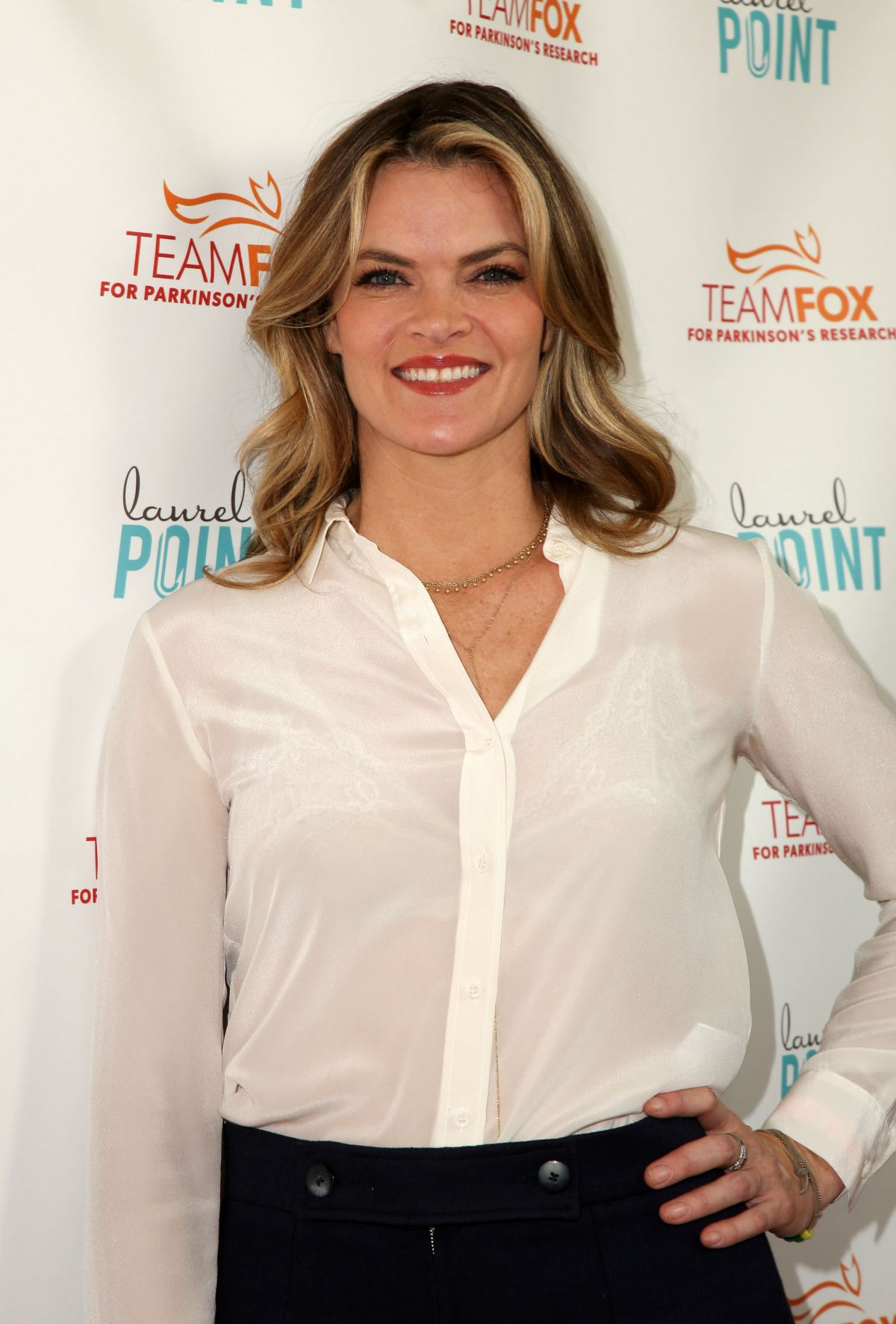 MISSI PYLE at Raising the Bar to End Parkinson's Event in Studio City 07/27/2016