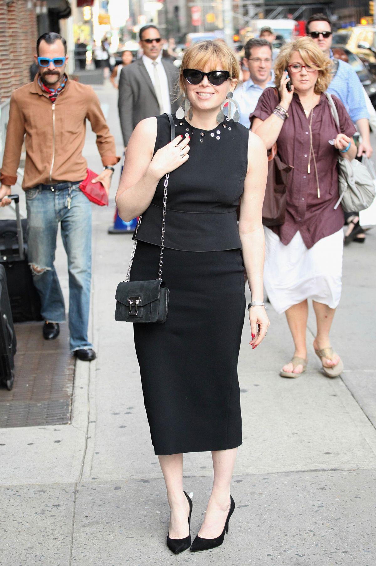 NATASHA LYONNE Out in New York 06/30/2016