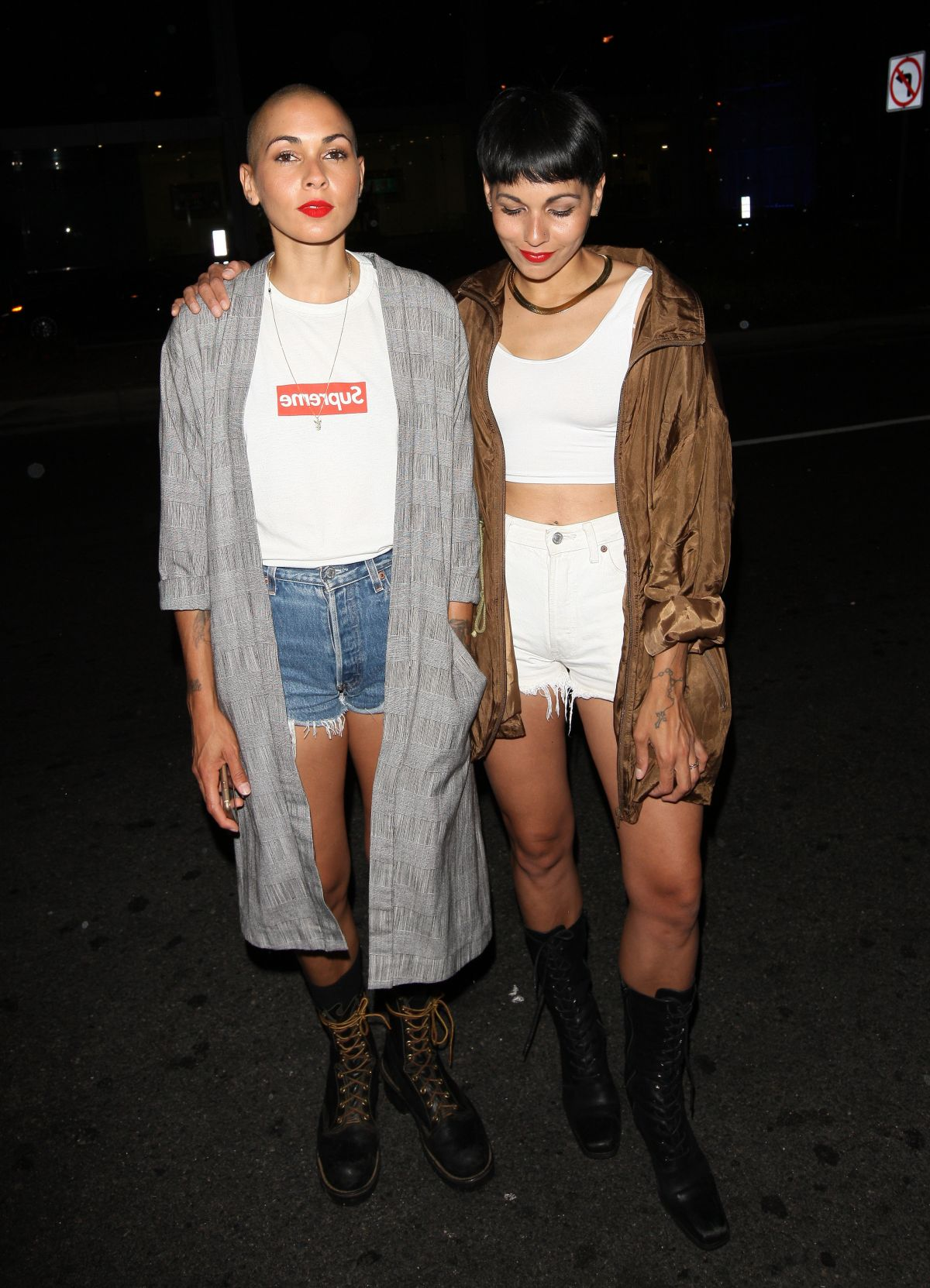 NINA SKY Night Out in West Hollywood 07/23/2016
