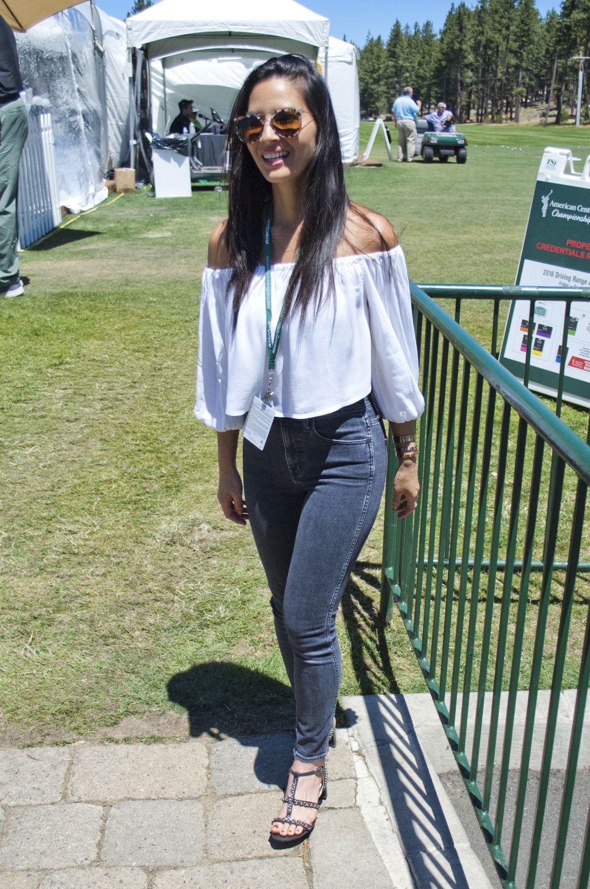 OLIVIA MUNN at Celebrity Golf Tournament 07/22/2016