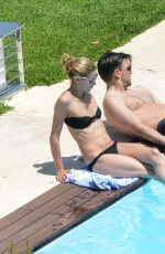 OLIVIA PALERMO in Bikini at a Pool in Capri 07/08/2016