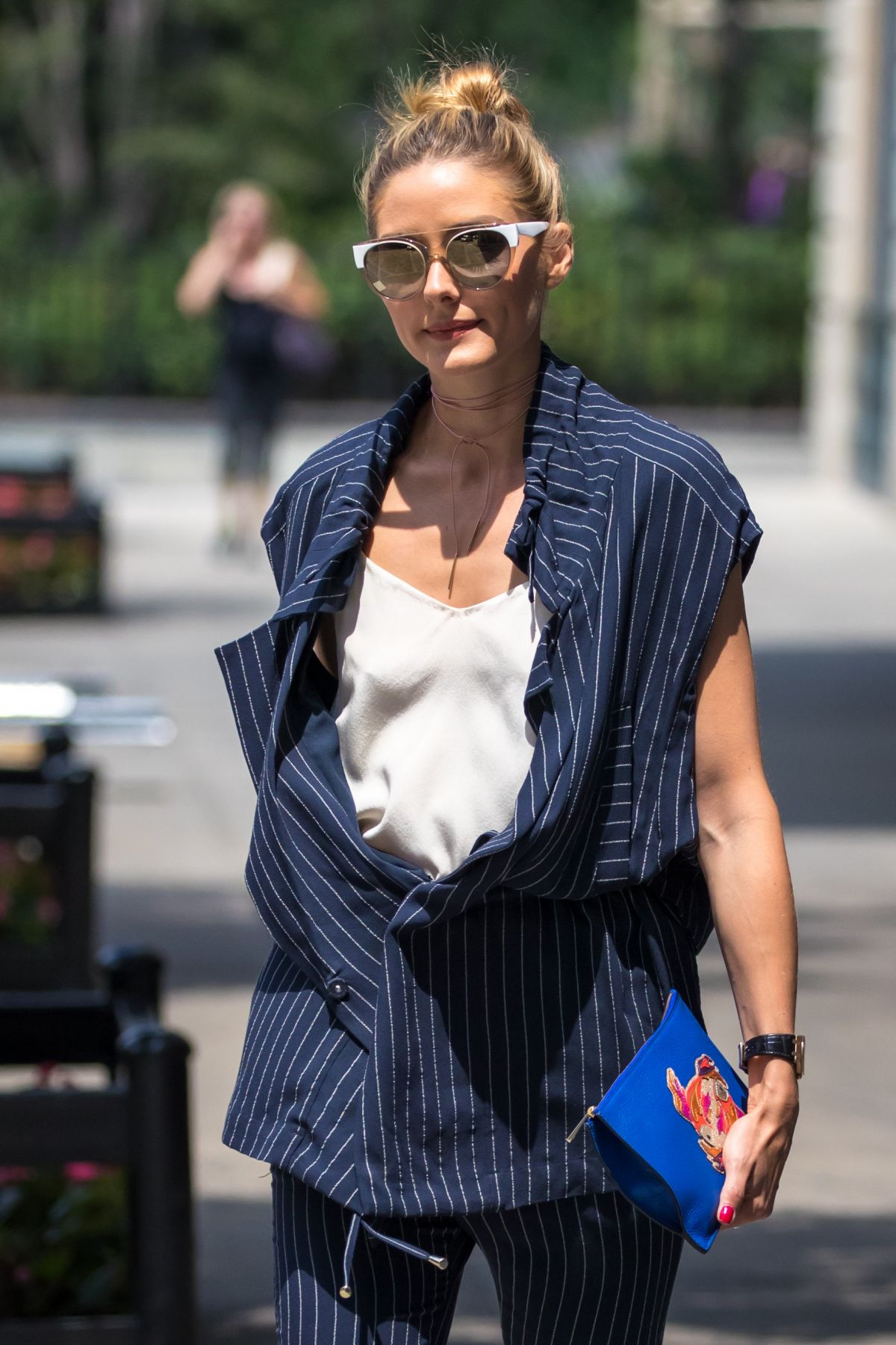 OLIVIA PALERMO Out in Brooklyn 07/29/2016