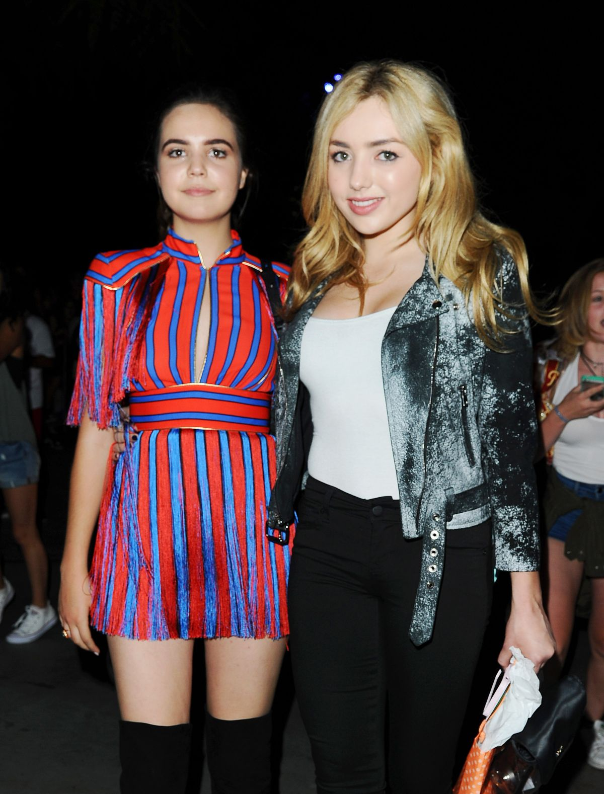PEYTON LIST and BAILEE MADISON at Selena Gomez Concert in Los Angeles 07/08/2016