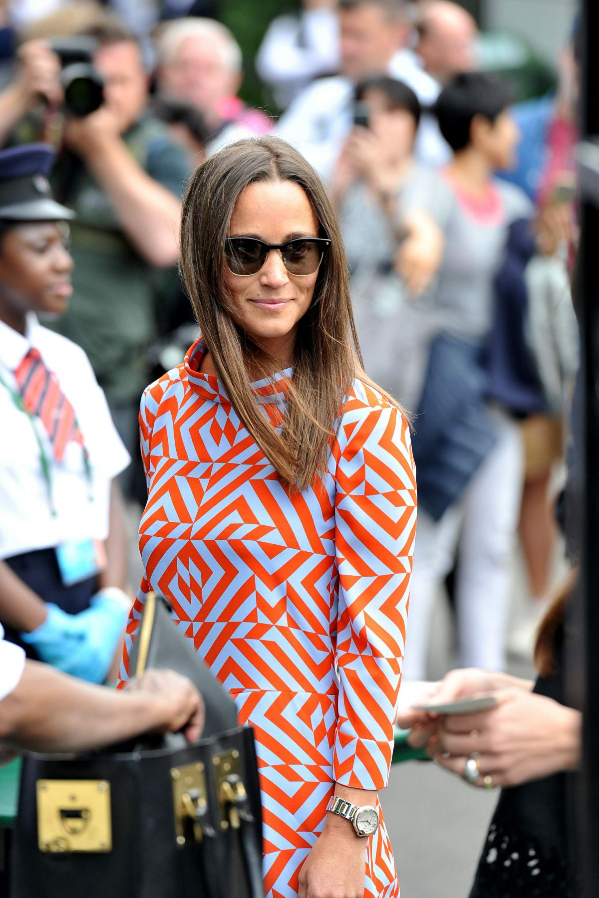 PIPPA MIDDLETON at Championships in Wimbledon 07/04/2016